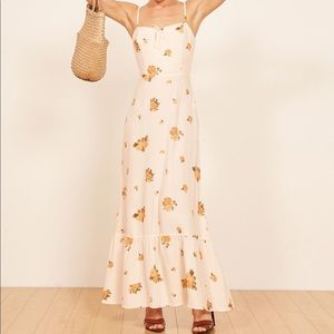 Reformation Prairie Constance Floral maxi dress